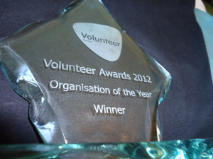 VOLUNTARY ORGANISATION OF THE YEAR 2012 GOES TO CLAN MACQUARRIE