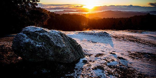 Sunrise Snow on Mt. Tam  Paul Myers_ Par