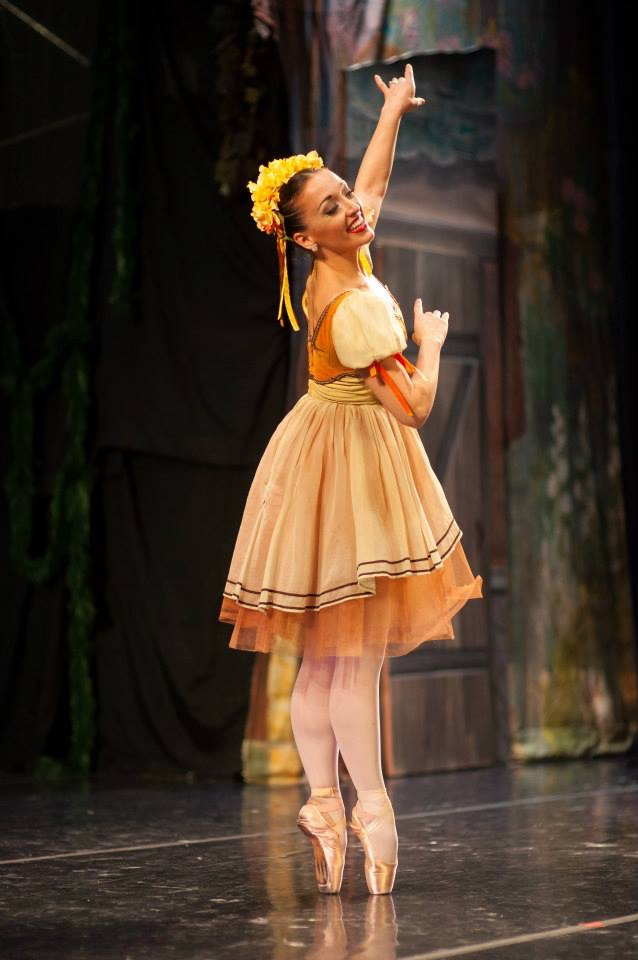 "Swanilda in LB's ""Coppelia"""