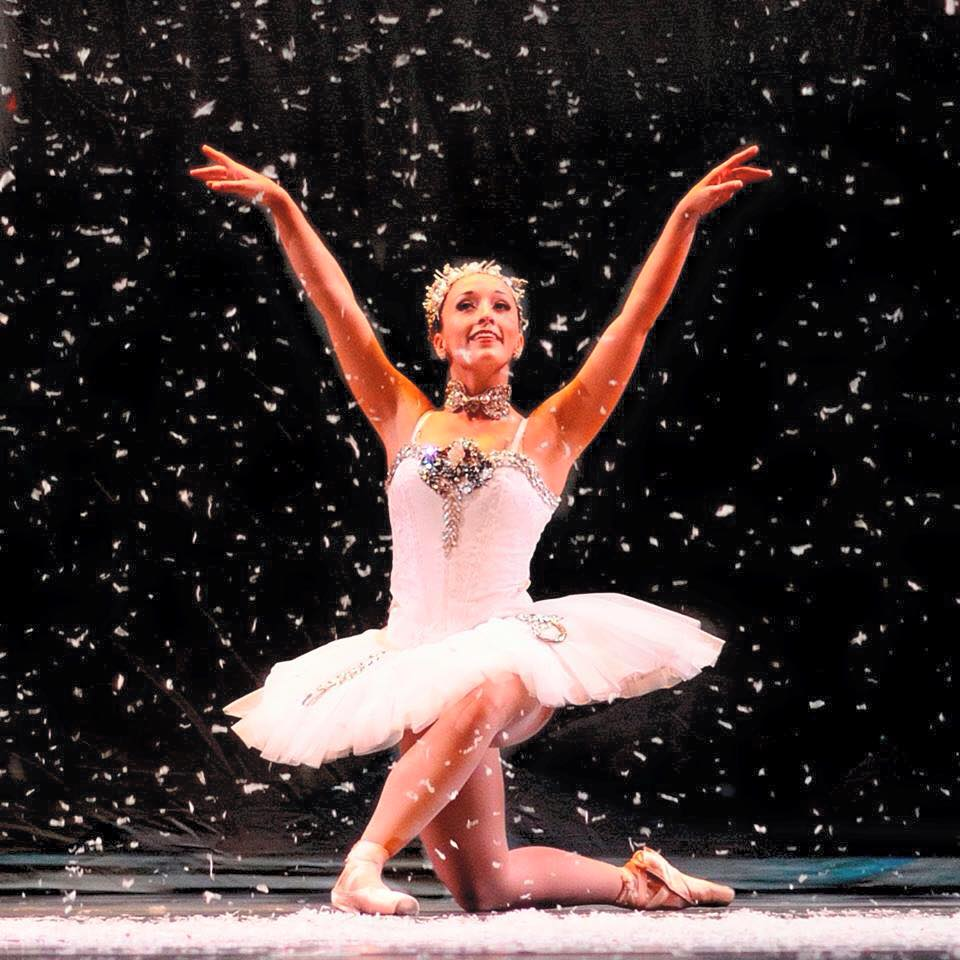 "Snow Queen in LB's ""Nutcracker"""