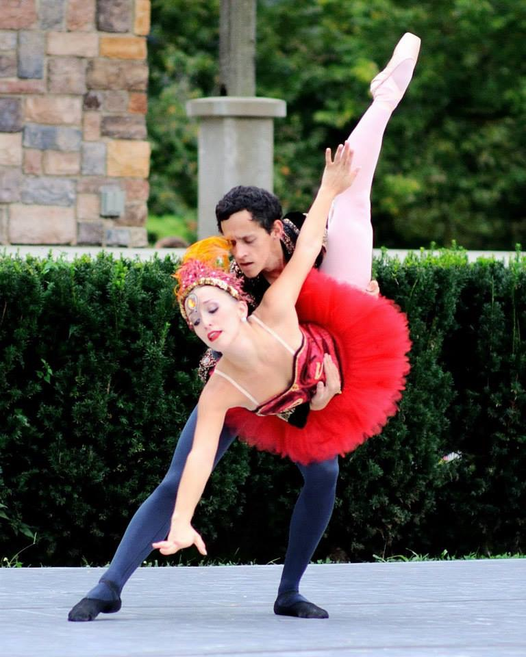 "Pas de deux from ""The Firebird"""