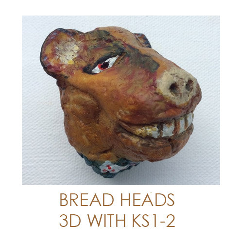 Artsmark SPARK Online Bread Heads - Transforming everyday materials