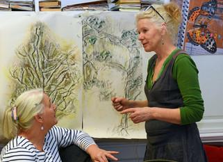 Intermediate Art Coordinator Training Day with Sara Dudman