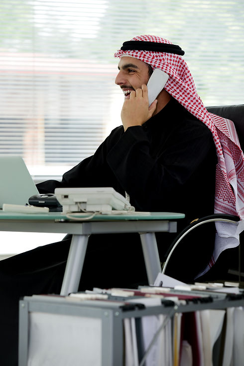 Portrait of a smart arabic business man