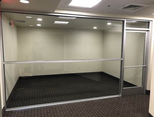 Glass walled Conference Room