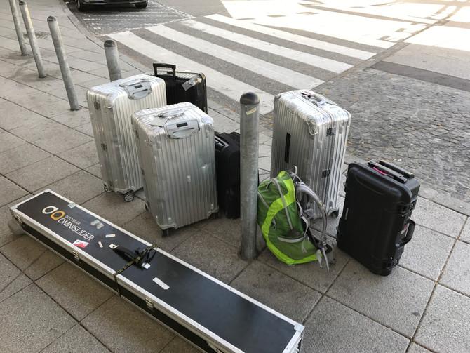 """arte bittet """"zu Tisch"""" nach Finnland u ich steh hier mit meinen Koffern ;)"""