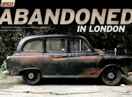 Abandoned London Black Cab
