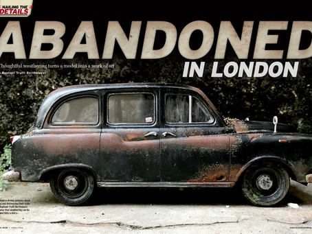Abandoned London Black Cab