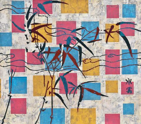 与蒙特里安(Mondrian)对话 No.3