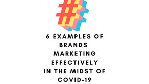 Marketing in the Midst of COVID-19