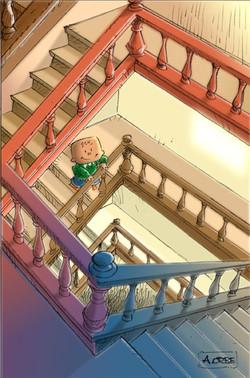 escaleras arriba, escaleras abajo