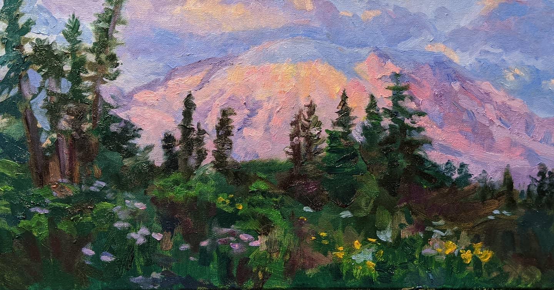 Sunrise at Mt.Rainier