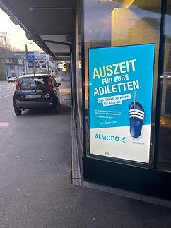 Screen Werbung, Werbung, Flyer, Plakate