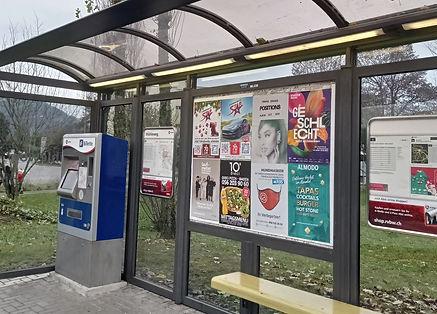 City Promo, Plakat Aushang, Werbung, Plakate