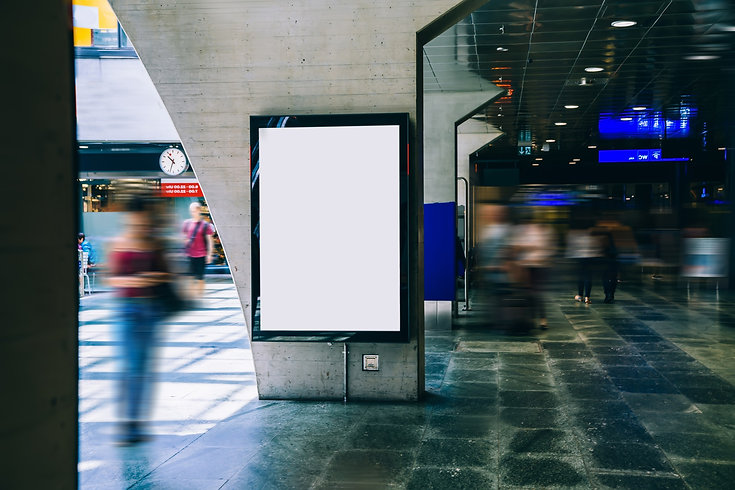 Screen Werbun, Plakate, Flyer, Promo, Werbung