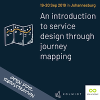 An Introduction to Service Design through Journey Mapping