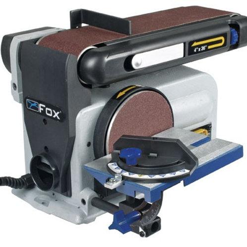 """100mm (4"""") x 150mm (6"""") Belt & Disc Sander"""