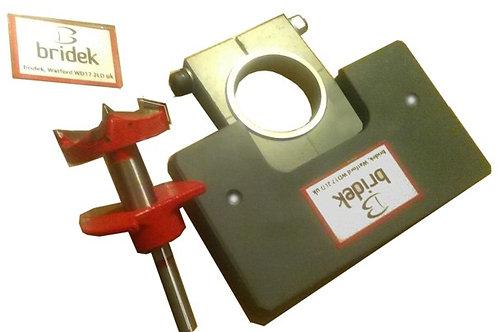 Concealed Hinge Jig Set C/W 35mm Cutter & Depth St