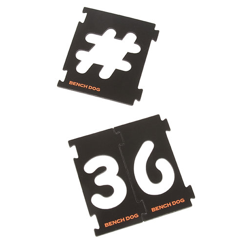 31 Pc Numbering Sign Kit