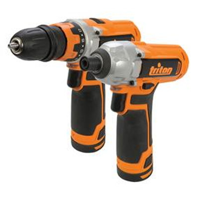 T12TP - 12v Drill Driver & Impact Driver Twin Pack