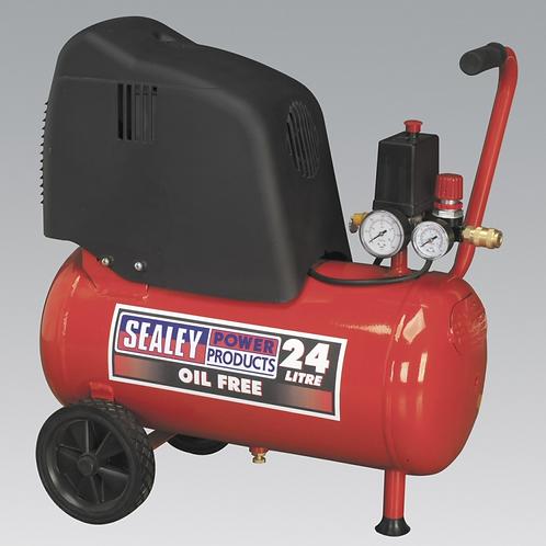 Oil - Free Compressor 24L /1.5hp - 230v
