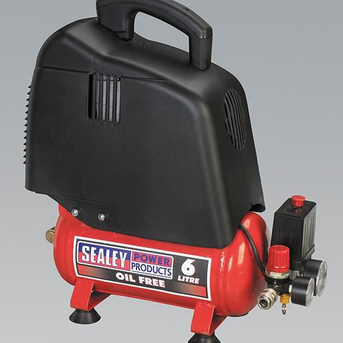 Oil - Free Compressor 6L /1.5hp - 230v