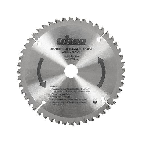 TTS48TCG - 165mm x 20mm x 48T TCT Sawblade