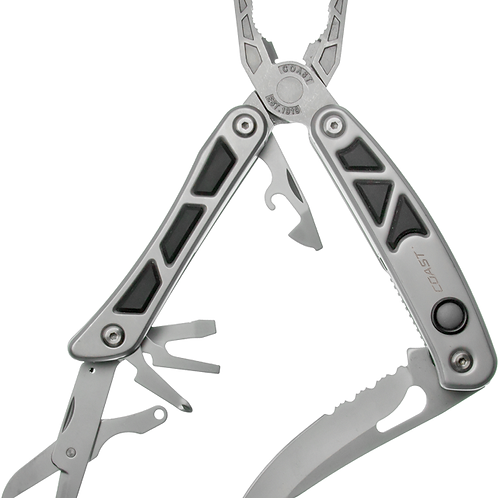 LED150 Pro Pocket Multi-Tool with 2 x LED (Silver)