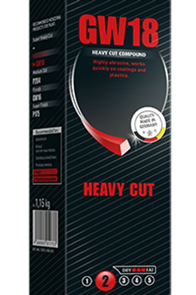 Menzerna GW18 - Heavy Cut (Full Bar)