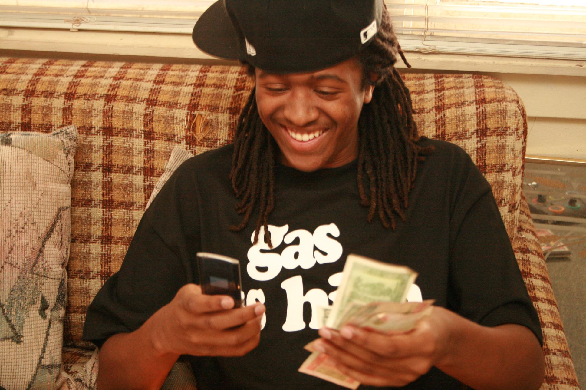 Money on Line 1