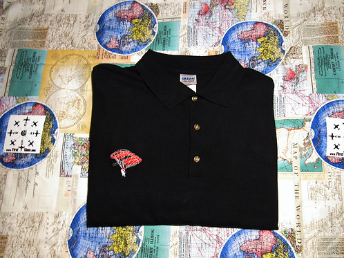 1/1 Passenger Supply (LARGE) Red & Black Parachute Polo