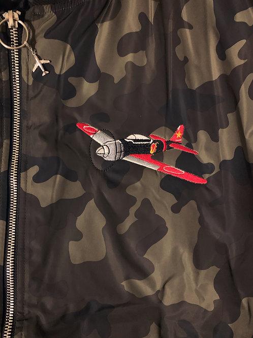 Jimmy bLAX- Red & bLAX Bomber Jacket