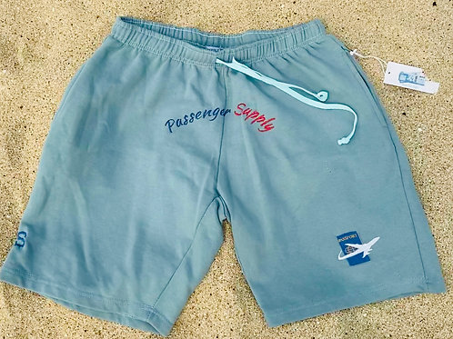 P.S Sky Blue Passport Shorts (L)