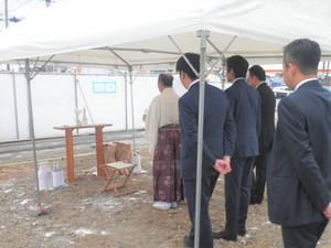 エコノミー湘南 本社屋 地鎮祭