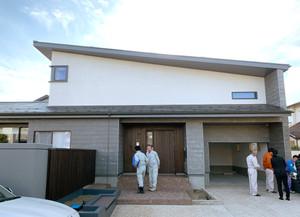 登り梁の家 竣工