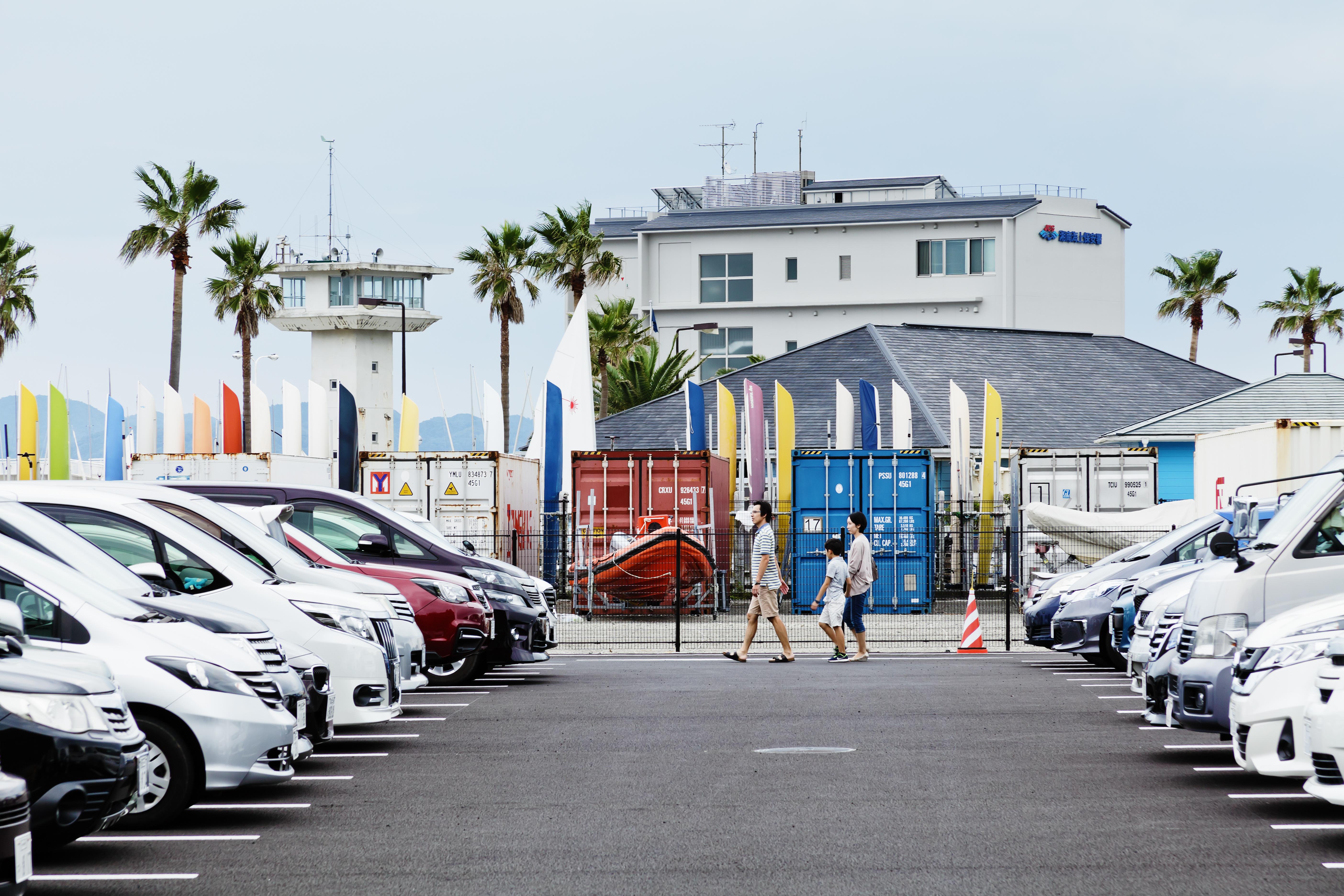 江の島かもめ駐車場・艇置場 02