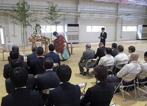 須藤製作所  福島工場  精密プレス加工棟  竣工式