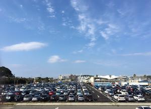 東京オリンピックセーリング競技運営エリア・江の島かもめ駐車場・艇置場 竣工写真撮影