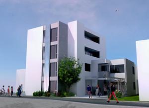 幸町の共同住宅 基本設計報告