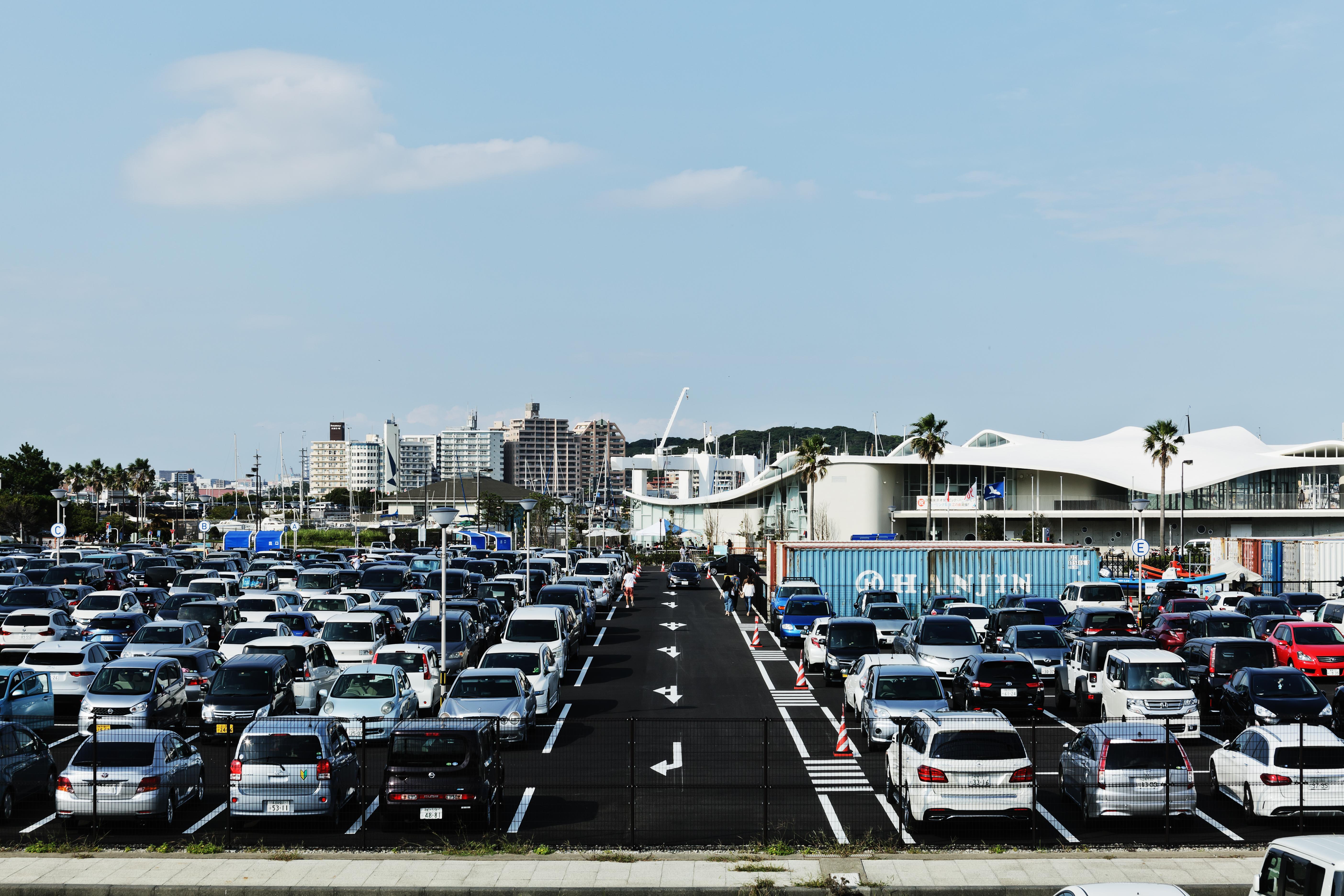 江の島かもめ駐車場・艇置場 01