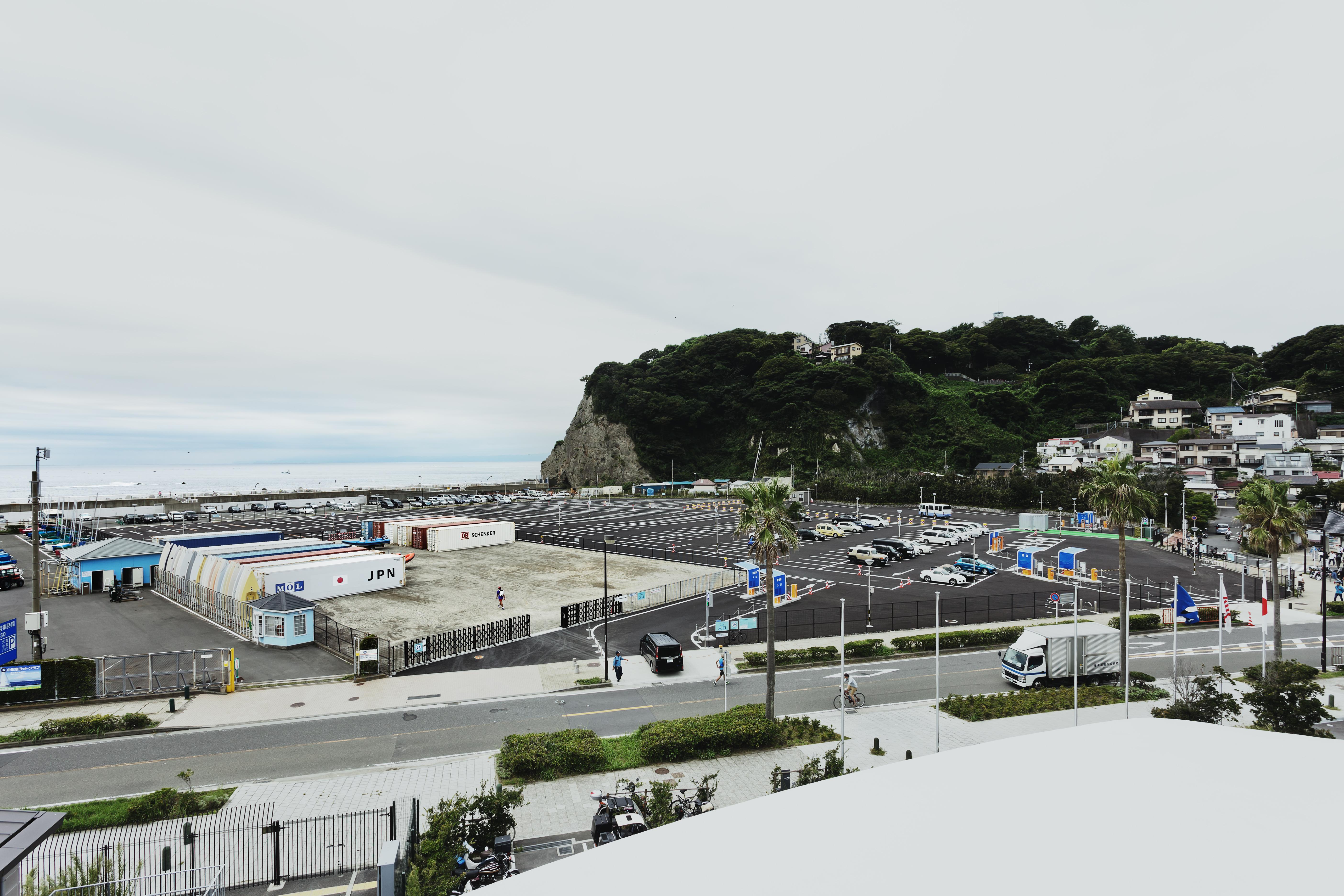 江の島かもめ駐車場・艇置場 05