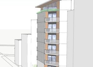 鵠沼の共同住宅 基本設計報告