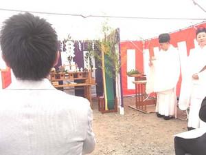 菊水酒造 貯蔵棟 地鎮祭