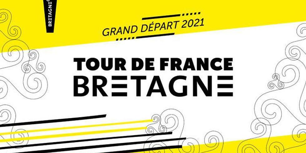 DÉPART DU TOUR DE FRANCE 2021