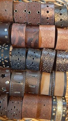 Faux Leather Cuffs