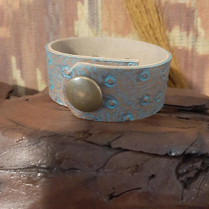 Faux Leather Cuff