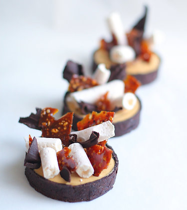 Шоколадная тарталетка