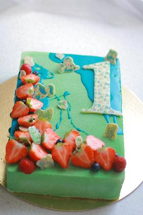 Детские торты с цифрами