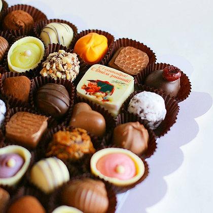 Коробочка конфет 36 шт