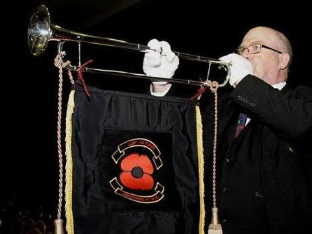 Bugler / Trumpeter Bobby Crick Supporting Military Charities